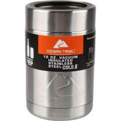 Ozark Trail 12-oz. Stainless Steel Can Cooler $8