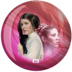 Viz-A-Ball Star Wars Leia Bowling Ball for $95