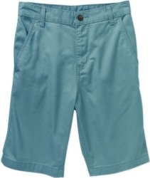 Faded Glory Men's Flat Front Twill Shorts for $6