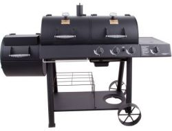 Oklahoma Joe's Charcoal/Gas/Smoker Combo for $427
