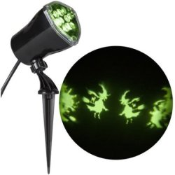 Gemmy Lightshow Projection Halloween Light for $17