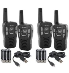 Refurb Cobra FRS/GMRS 2-Way Radio 4-Pack for $40