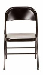 4 Mainstays Steel Folding Chairs for $39
