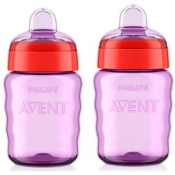 2 Philips Avent My Easy Sippy Spout Cups for $5