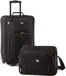 American Tourister 2-Piece Luggage Set for $28