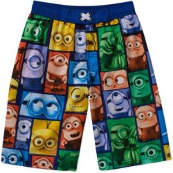 Minions Boys' Swim Shorts (ltd. sizes) for $2
