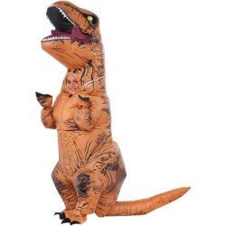 Jurassic World Kids' T-Rex Inflatable Costume $46