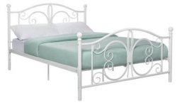 Dorel Home Products Bombay Metal Full Bed for $142