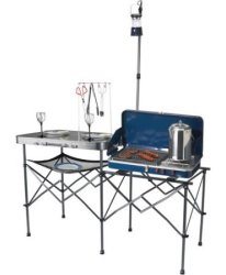 Ozark Trail Portable Camp Kitchen Table for $60