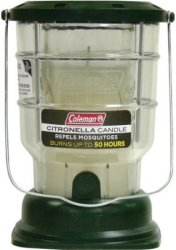 Coleman 50-Hour Citronella Candle Lantern for $6