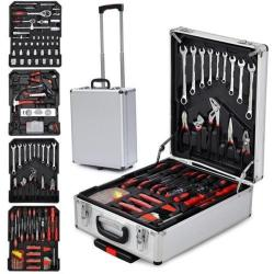 Yaheetech Mechanics 599pc Rolling Toolbox for $87
