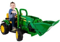 John Deere Ground Loader 12V Ride-On $249
