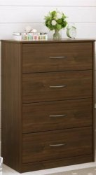 Mainstays 4-Drawer Dresser for $59