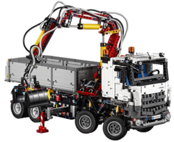 LEGO Technic Mercedes-Benz Arocs Kit for $178