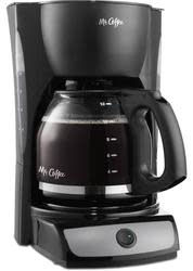 Mr. Coffee 12-Cup Switch Coffee Maker for $15