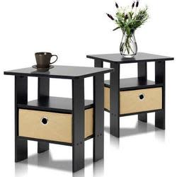 2 Furinno End Table Night Stands for $39