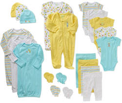 Garanimals 21-Piece Layette Baby Gift Set for $25