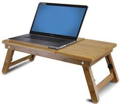 Furinno Bamboo Adjustable Notebook Lapdesk for $24