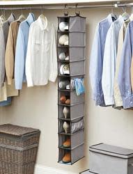 Better Homes & Gardens 10-Shelf Organizer for $5