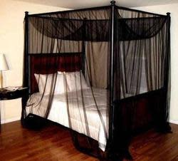 Palace 4-Post Bed Sheer Panel Canopy for $25