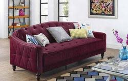 9 by Novogratz Tufted Sofa Sleeper II for $299