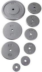 "Cap Barbell 1"" Cast-Iron Weight Plates from $2"
