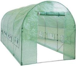 Greenhouse 15-Foot Walk-In Tunnel Greenhouse $115