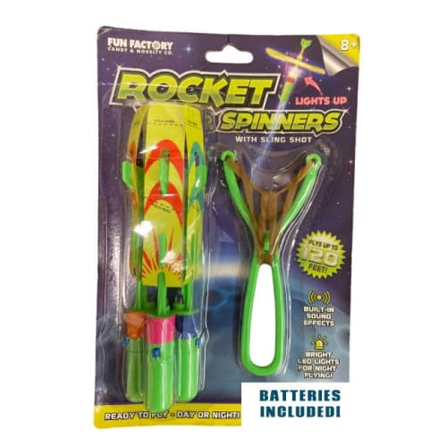 Slingshot LED Rocket Copters for $4 + free shipping