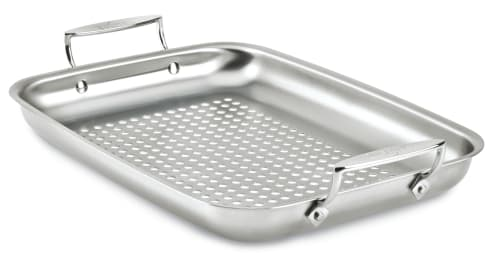 Factory Seconds All-Clad Stainless Outdoor Roasting Pan for $25 + $7.95 s&h