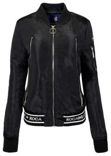 Rocawear Women's Logo Bomber Jacket for $8 + $5.95 s&h