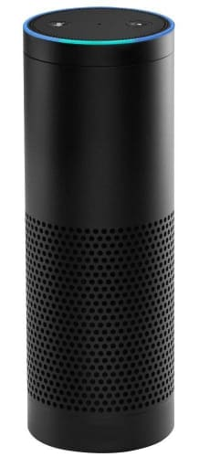 Open-Box 1st-Gen. Amazon Echo Voice-Controlled Speaker for $35 + free shipping