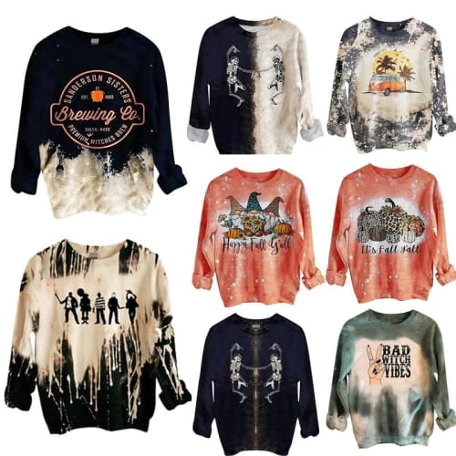 Women's Halloween Sweatshirt: 2 for $27 + free shipping