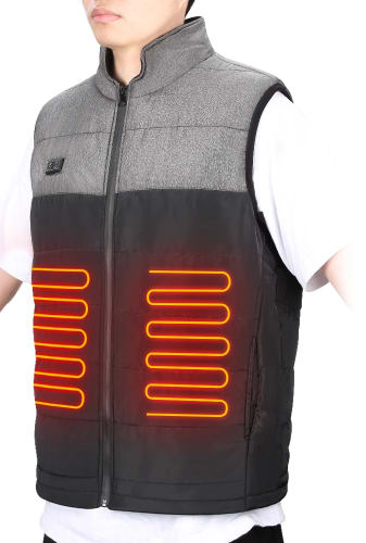 Heated Vest w/ Battery and Charger for $50 + free shipping