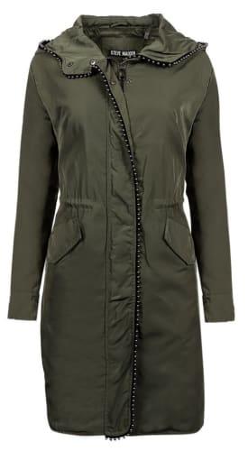 Steve Madden Women's Beaded Anorak Jacket for $30 + $5.95 s&h