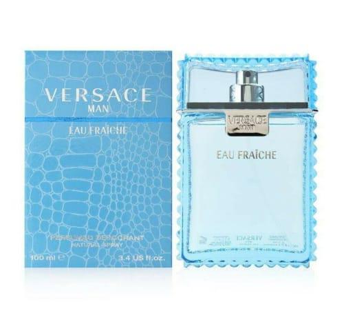 Versace Man Eau Fraiche 3.4oz Men's Eau de Toilette Spray Bottle for $39 + free shipping