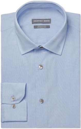 Geoffrey Beene Men's Non-Iron Dress Shirts for $10 + free shipping w/ $25