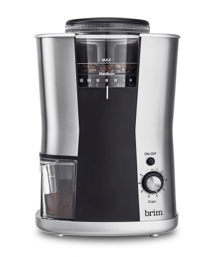 Brim Conical Burr Coffee Grinder for $54 + free shipping