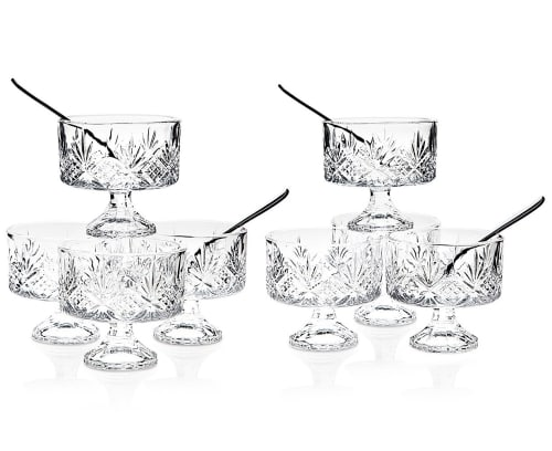 Godinger Dublin 16-Piece Crystal Trifle Bowl Set for $14 + free shipping w/ $25