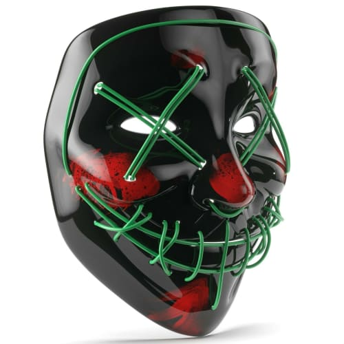 Purge Halloween LED Mask for $8 + free shipping