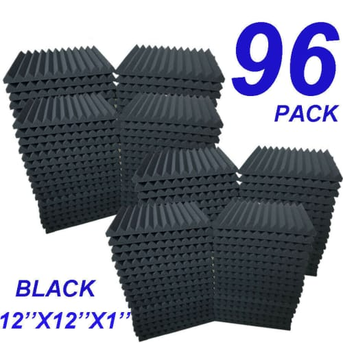 Soundproofing Acoustic Panel 96-Pack for $58 + free shipping