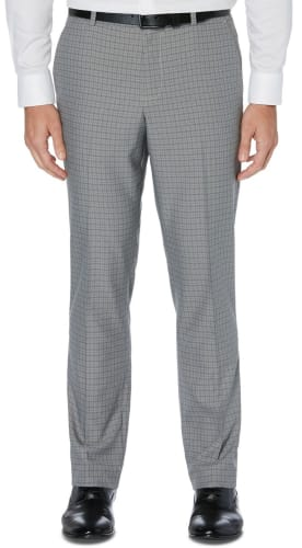 Perry Ellis Portfolio Modern-Fit Stretch Performance Pants for $20 + free shipping w/ $25