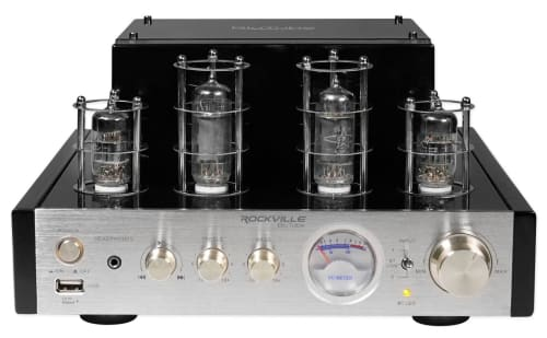 Rockville BluTube 70w Tube Amplifier/Home Theater Stereo Receiver for $150 + free shipping
