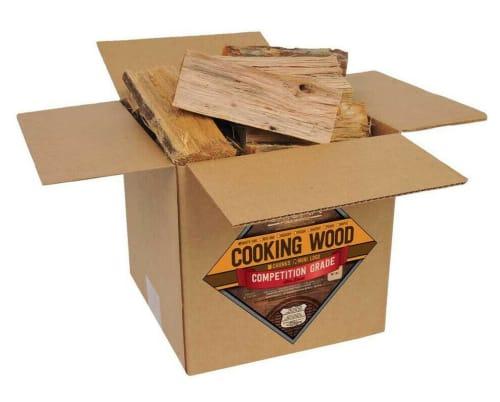 Smoak Firewood White Oak Mini Logs Cooking Wood 25- to 30-lb. Box for $48 + free shipping