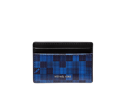 Michael Kors Men's Graphic Check Card Case for $23 + free shipping