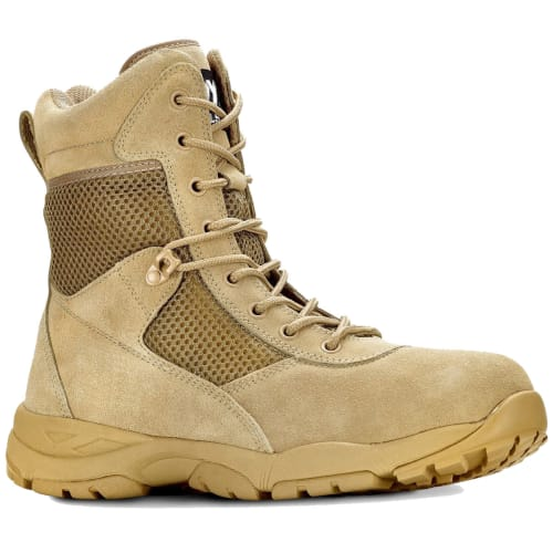 """Maelstrom Men's LANDSHIP 2.0 8"""" Tactical Boots for $40 + free shipping"""