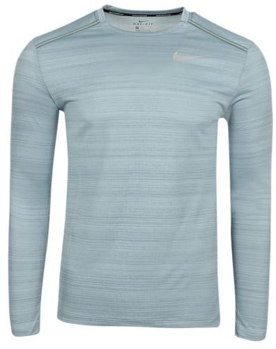 Nike Men's Dri-Fit Miler Long Sleeve Running Top for $15 + $5.95 s&h
