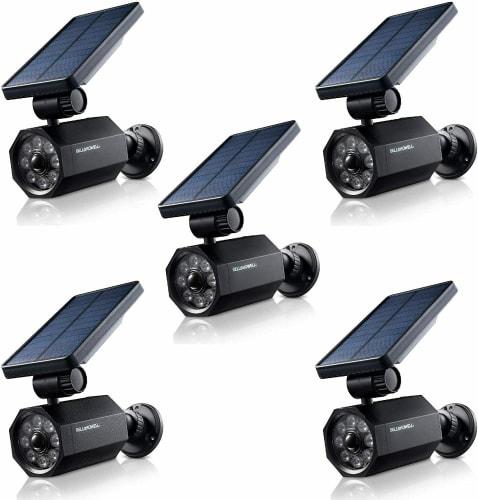 Bell+Howell Bionic Solar Motion-Detecting Spotlight 5-Pack for $80 + free shipping