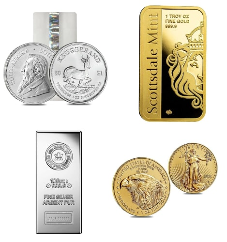 Coins and Bullion at eBay: Up to 78% off + free shipping