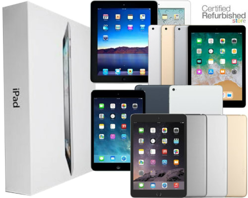 Refurb Apple iPads at eBay from $180 + free shipping