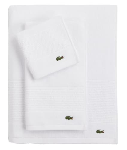 Lacoste Legend Supima Cotton Towels and Washcloths from $7 + free shipping w/ $25